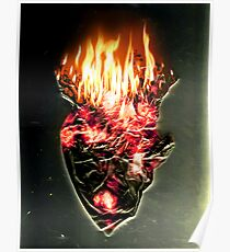 Fire, walk with me Poster