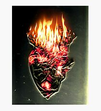 Fire, walk with me Photographic Print