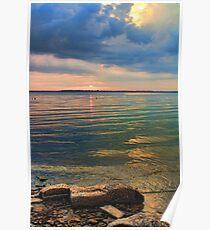 Beautiful Lake Eufaula Poster