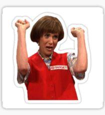 Target Lady Kristen Wiig Snl Sticker