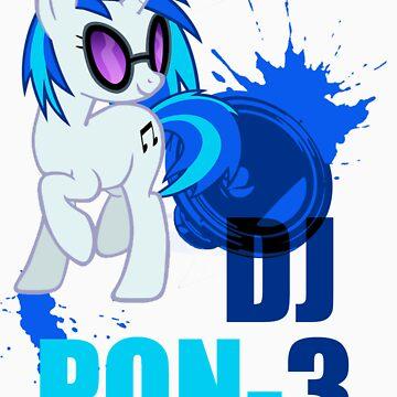 DJ pon-3 by kidomaga