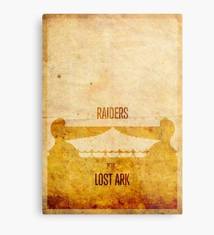 Raiders (aged) Metal Print