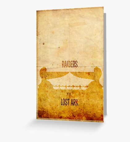 Raiders (aged) Greeting Card