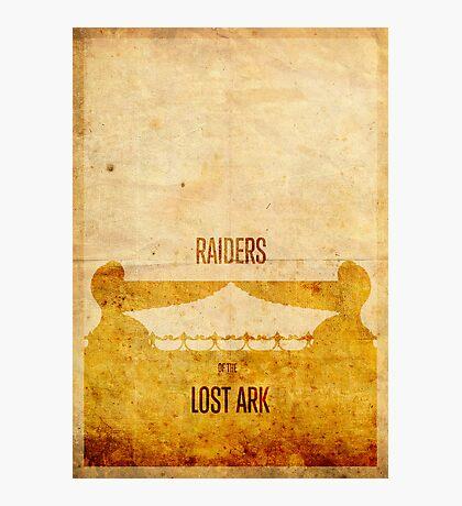 Raiders (aged) Photographic Print