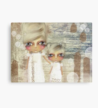 seaside angels Canvas Print