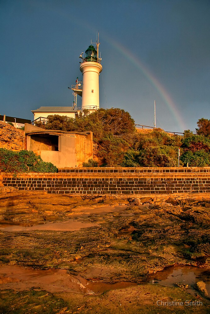 Point Lonsdale Lighthouse (3) by Christine Smith