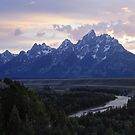 Snake River Overlook by David Kocherhans