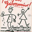 PAGO GIOVANNINO (vintage illustration) by ART INSPIRED BY MUSIC