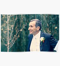 Excited Groom Poster