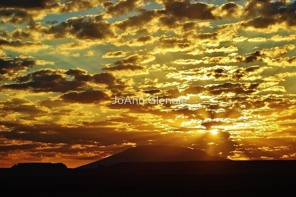 Navajo Sunset by JoAnn Glennie
