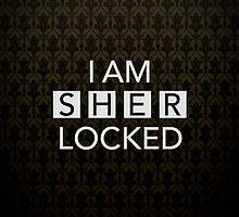 Sherlocked Wallpaper by Mark Walker