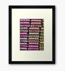 Lots of little white eggs Framed Print