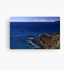 Sea View, Forster, New South Wales, Australia 2000 Canvas Print