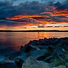 Pelican Point Fire by bazcelt