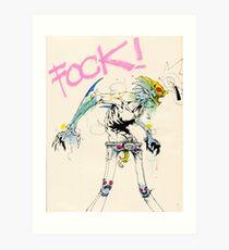 AW FOCK Art Print