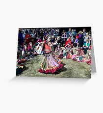 Abbey Medieval Festival 7 Greeting Card