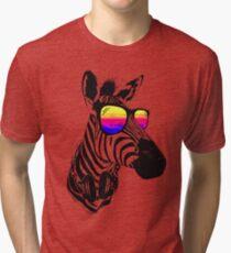 Kühle Zebra Vintage T-Shirt