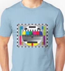 TV transmission test card T-Shirt