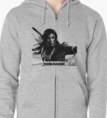 Rise of the Tomb Raider Zipped Hoodie