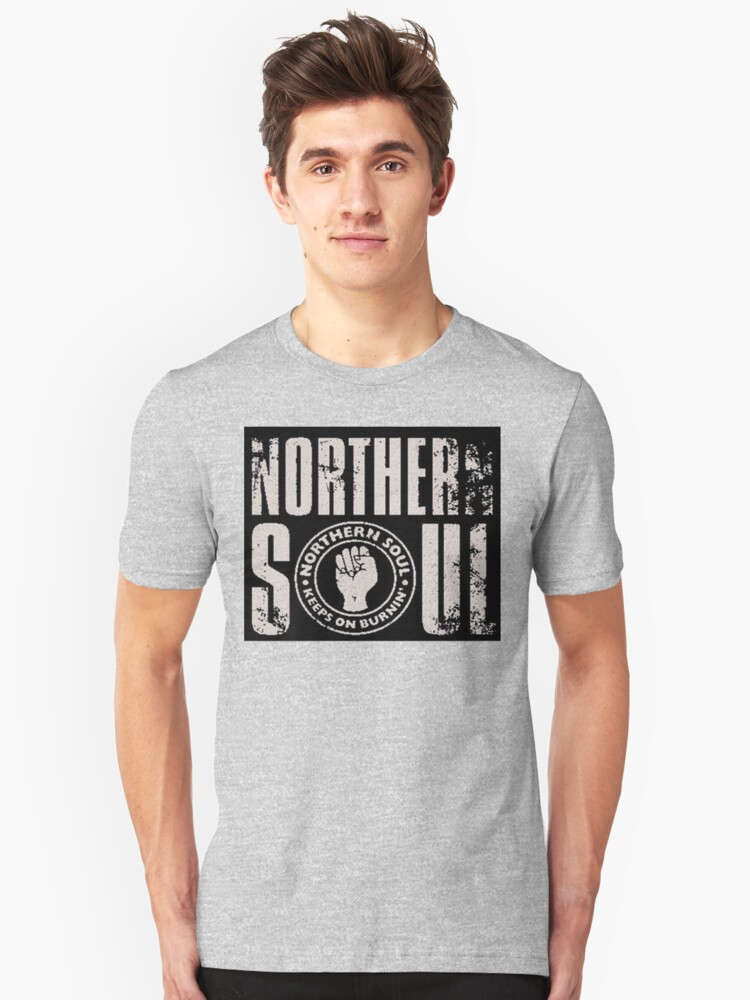 Northern Soul (Silver) Unisex T-Shirt Front