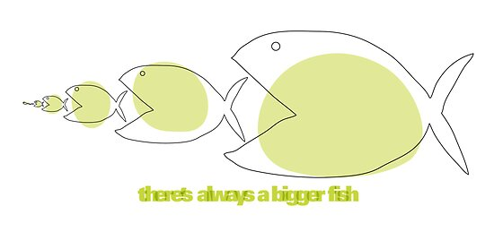 there's always a bigger fish by cybertype