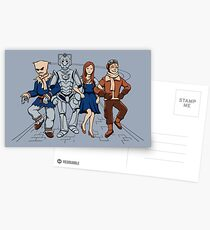 Wizard of Who Postcards