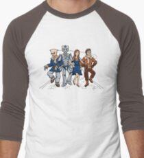 Wizard of Who Men's Baseball ¾ T-Shirt