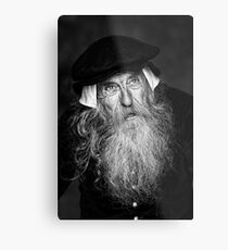 A Wise Old Man Metal Print
