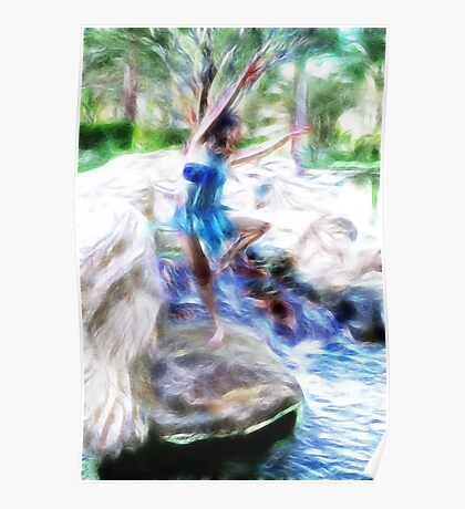 Dancing on the Rocks Poster