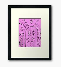 cosmic radar Framed Print