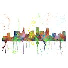 St. Paul, Minnesota Skyline von Marlene Watson