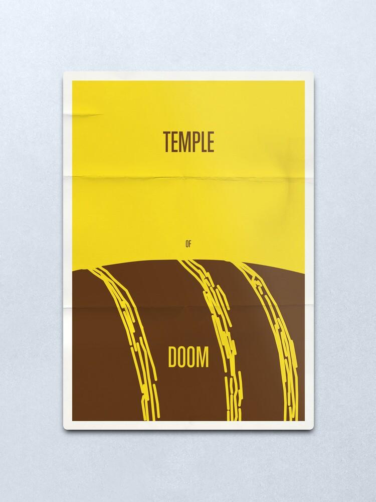 Alternate view of Temple Metal Print