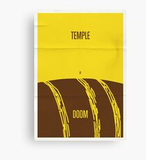 Temple Canvas Print