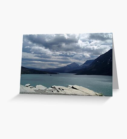 Many Glaciers - Glacier National Park Greeting Card