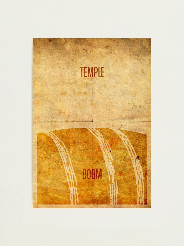 Alternate view of Temple (aged) Photographic Print