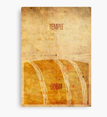 Temple (aged) Metal Print