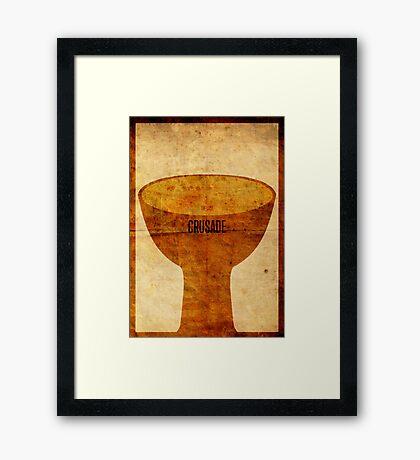 Crusade (aged) Framed Print