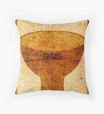 Crusade (aged) Throw Pillow