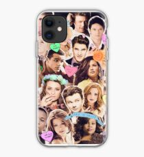 glee cast collage iPhone Case