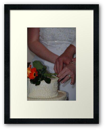Cutting the Wedding Cake by Vonnie Murfin