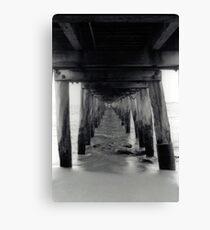 Point Lonsdale pier - 35mm Canvas Print