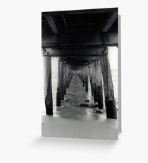 Point Lonsdale pier - 35mm Greeting Card