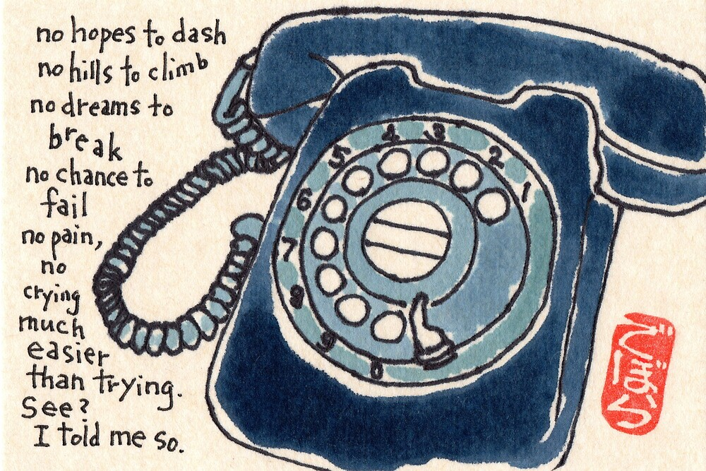 The Call Won't Come, I Won't Be The One by dosankodebbie