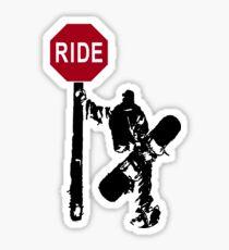 snowboard : directions? Sticker