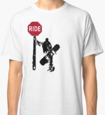 snowboard : directions? Classic T-Shirt