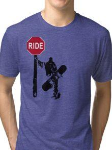 snowboard : directions? Tri-blend T-Shirt
