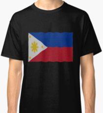 Philippines flag Classic T-Shirt