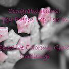 Selective Coloring Top Ten Banner by MissyD