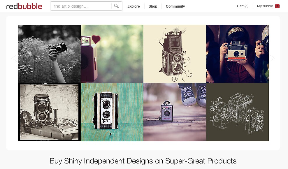 11 July 2012 by The RedBubble Homepage