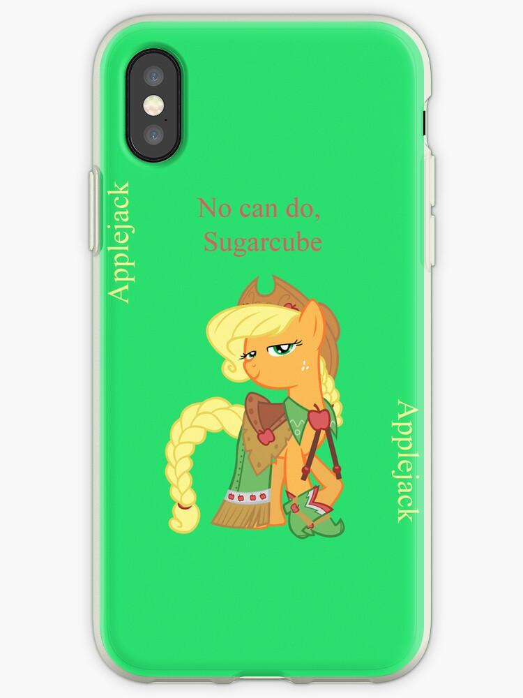 Applejack, she said no by Rhiaxxify